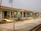 Side view of Twin Houses inside Tapovan