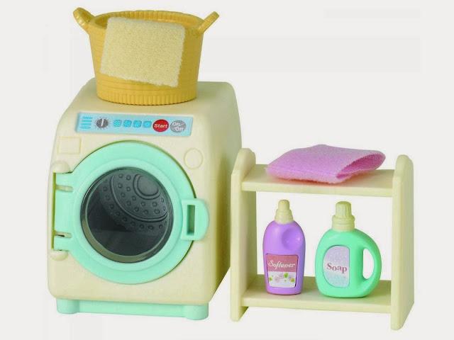 Mô hình máy giặt cho thú bông Sylavanian Families