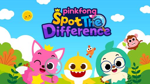 Pinkfong Spot the difference : Finding Baby Shark 2.5 screenshots 1