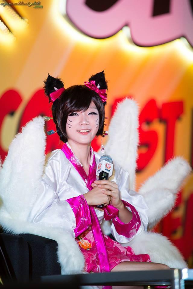 Miyuko khoe cosplay Ahri tại STGCC 2013 - Ảnh 5