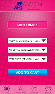 MHD-Avon Ordering App screenshot 4
