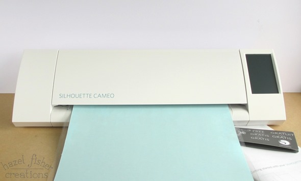 2015 April 29 Silhouette Cameo cutting machine introduction hazelfishercreations 1