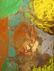 Self-Portrait in Chalk Pastel by Brian
