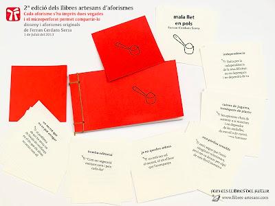 nou disseny llibres d'aforismes