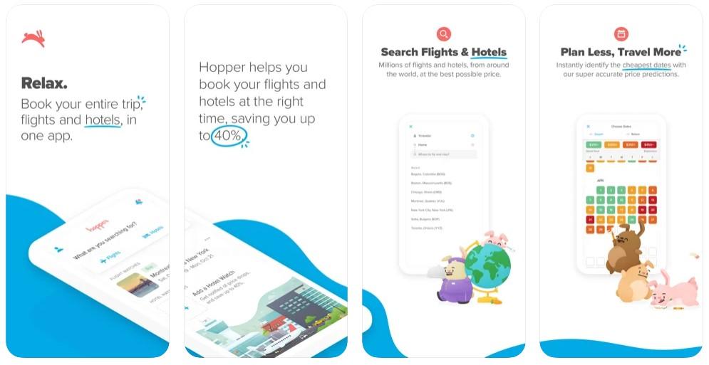 Hopper - Flight & Hotel Deals