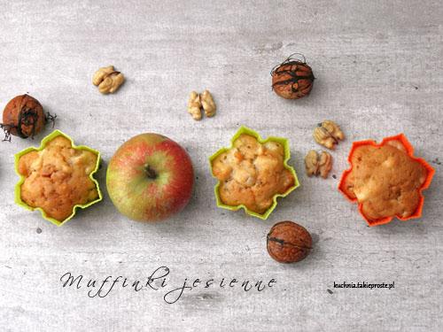 Muffinki jesienne