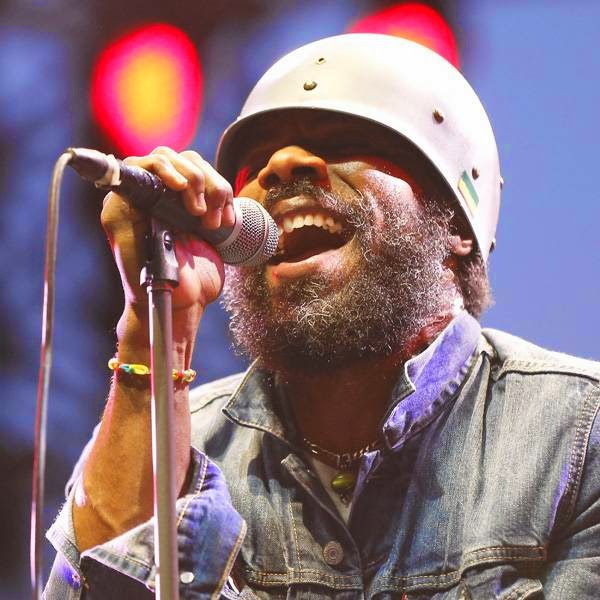 US singer Cody Chesnutt performs on stage during the Nice Jazz Festival on July 11, 2014 in Nice, southeastern France.