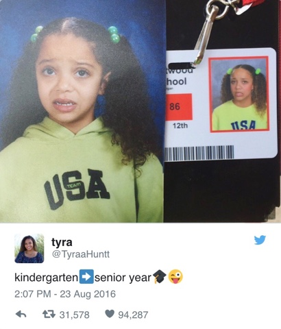 The Adriana's Diaries : Kindergarten vs. Senior Year | Trending on ...