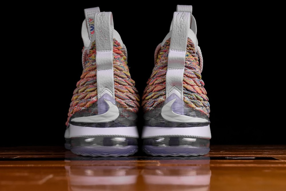 76daca8432cefb ... Release Reminder Nike LeBron 15 Fruity Pebbles ...