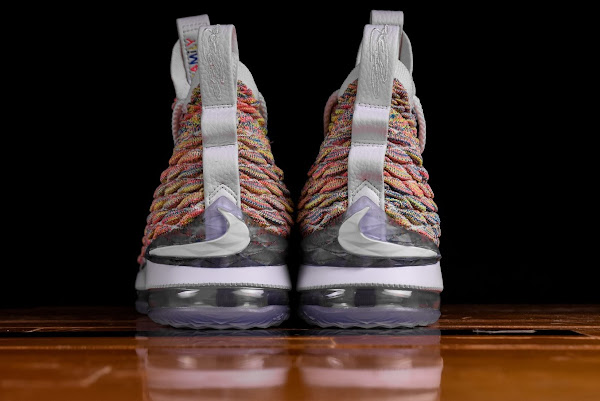 purchase cheap e48ad 93d5d Release Reminder: Nike LeBron 15 'Fruity Pebbles' | NIKE ...