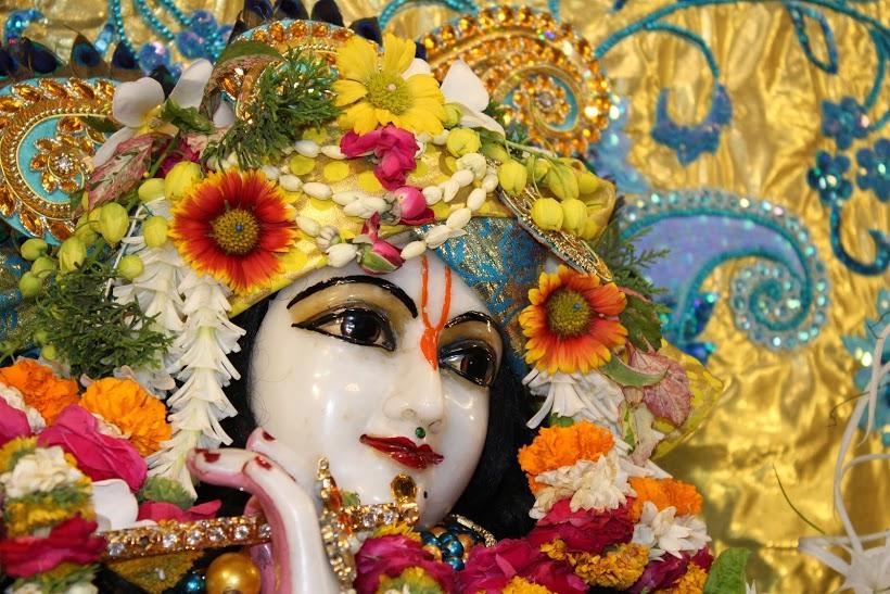ISKCON Vallabh Vidyanagar Sringar Deity Darshan 23 April 2016 (2)