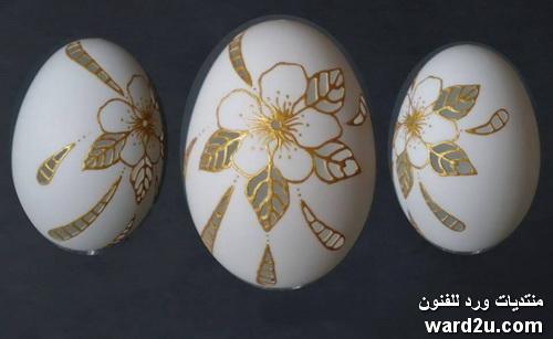 فن النحت على قشر البيض