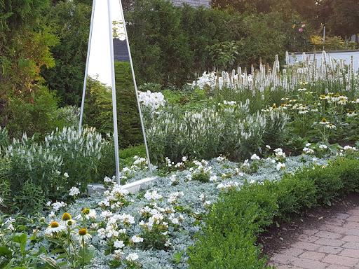 The White Garden. More than A Garden: Curious Llamas, Tiny Houses, and Teapot Trees at Kingsbrae Garden