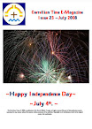 Issue 23 July 2008 vol 1 Happy Independence Day
