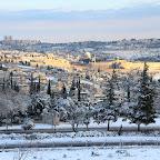 Jeruzalem - sneeuw, 2015