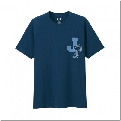 Uniqlo UT MEN Peanuts Short Sleeve Graphic T-Shirt 02