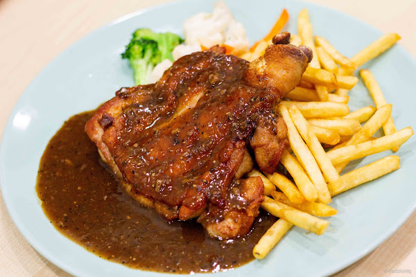 Western Chicken Chop