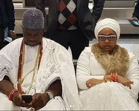 In one post, Olori Wurauola confirms her marriage crash and also called out the Ooni of Ife!