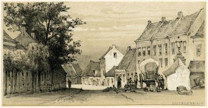 Photo: 1880 Tekening van Schipperus van de Markt.