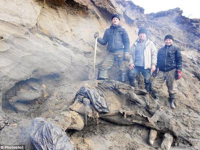 Budak jumpa fosil 30,000 tahun