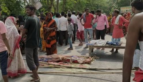 मोतिहारी में एक ही परिवार के 5 लोगो की संदिग्ध मौत, छानबीन में जुटी पुलिस, घर शील कर जांच शुरू