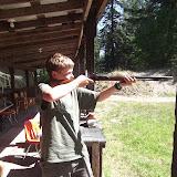 Ben taking aim