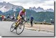 haute route 5 set 2017 - il vincitore della crono bressanone - plancios e leader della generale CEDRICK DUBOIS