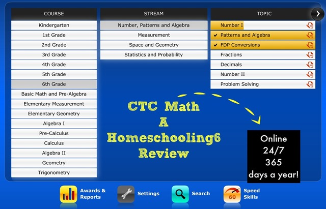 CTC Math a Homeschooling6 Review