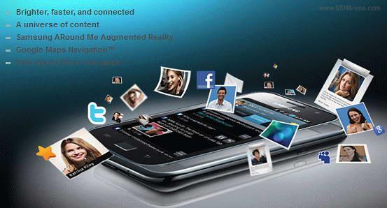 Samsung Galaxy SL Smartphone images