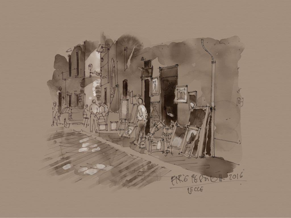 Il monte della Teresina made with Sketches