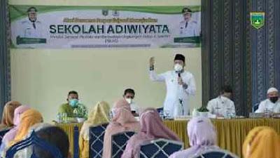 Wako Fadly Amran Ingin Sekolah di Padang Panjang Berwawasan Lingkungan