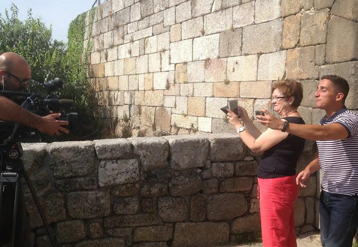 Gravação das reportagens sobre Lamego para o Somos Portugal - TVI