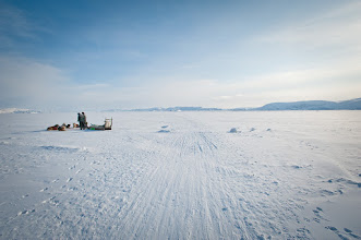 Photo: Pit stop on the Icefjord