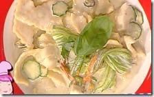 Maltagliati zucchine e taleggio