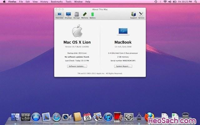 Hình 5 - Hướng dẫn cách chụp màn hình macbook đơn giản