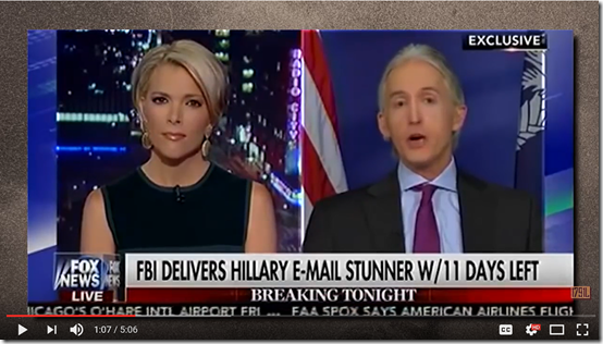 Trey Gowdy reacts to new Clinton FBI investigation