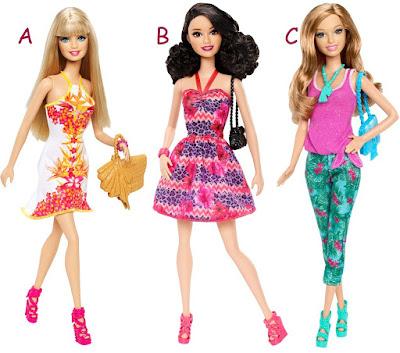 Barbie sắc màu nhiệt đới Barbie Fashionistas
