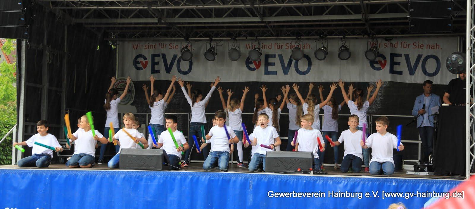 Bühnenprogramm Hainburger Markt 2015