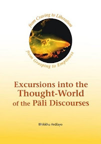 [Anālayo: Excursions into the Thought-World of the Pāli Discourses, 2012]