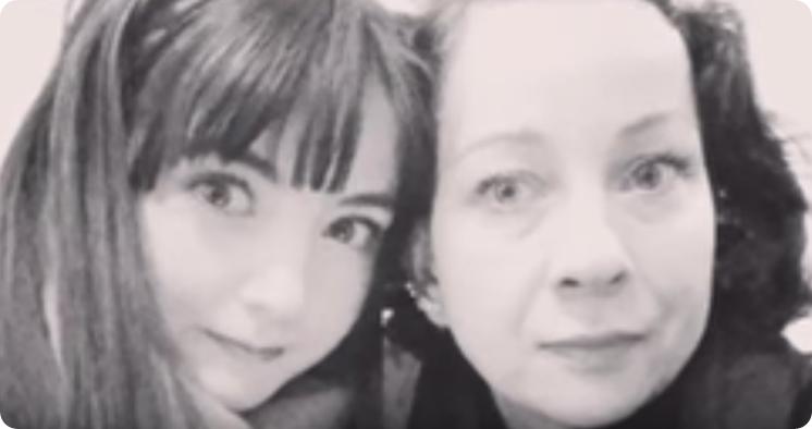 venus y su madre