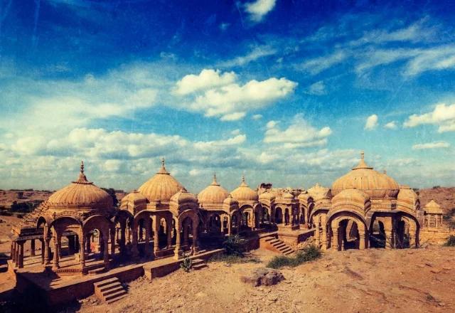 Bada bag in Jaisalmer in hindi