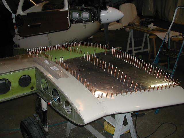 Réparation du PA28 F-GHIX
