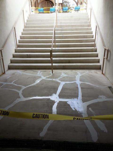 La Jolla Presbyterian Deck Waterproofing - 20131127_084637