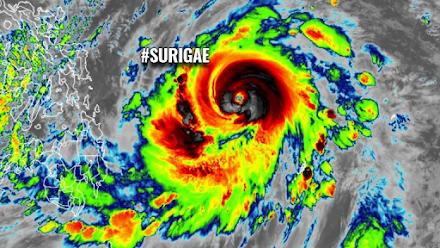 Τυφώνας Surigae : Ο πρώτος τυφώνας κατηγορίας 5 του 2021 απειλεί τις Φιλιππίνες από την Κυριακή