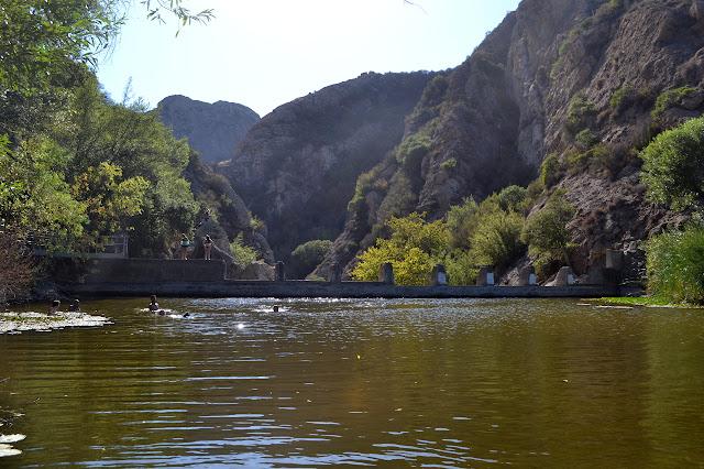 Malibu Canyon beyond Century Dam