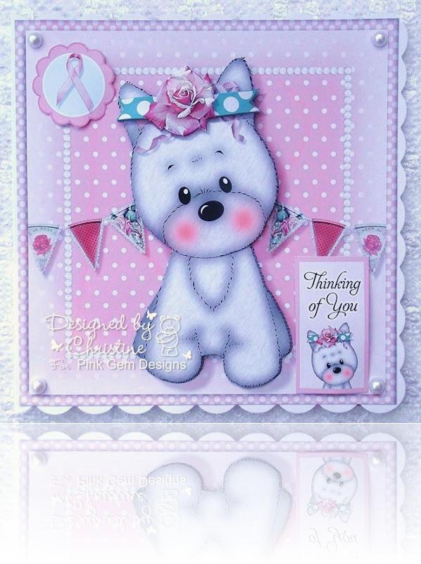 PG pink terrier