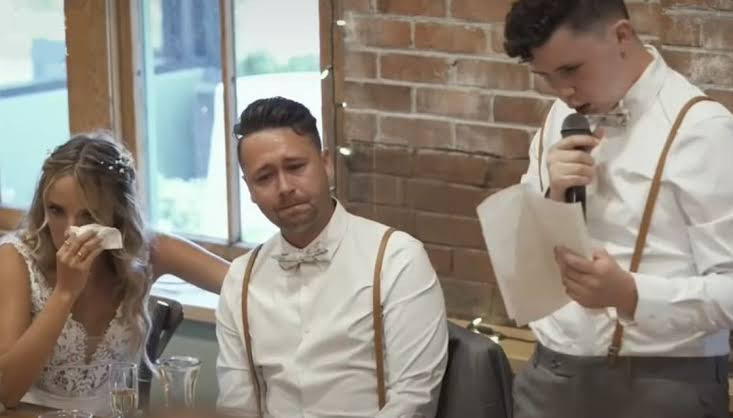 Groom's brother with autism gives best man speech that leaves 170 wedding guests in tears (video)
