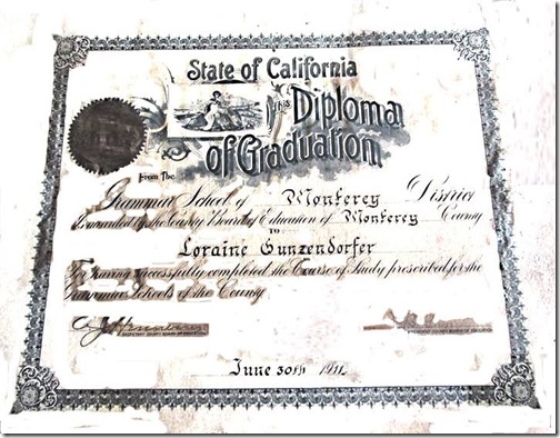 Loraine Grammar School Diploma After v.1