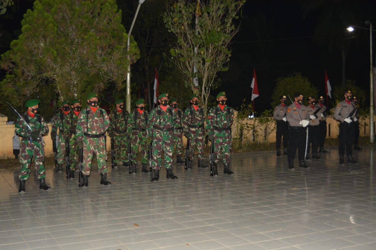 Kodam VI/Mlw Gelar Malam Renungan Duci di TMP Wadah Batuah