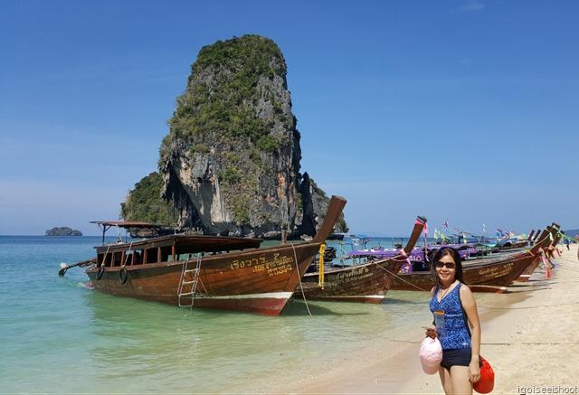 exploring the beaches of Railay Peninsula, especially Phra Nang Beach